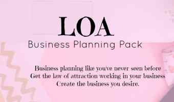 LOA Business Planning Pack – Create your ideal business