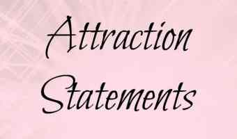 LOA Success: Attraction statements