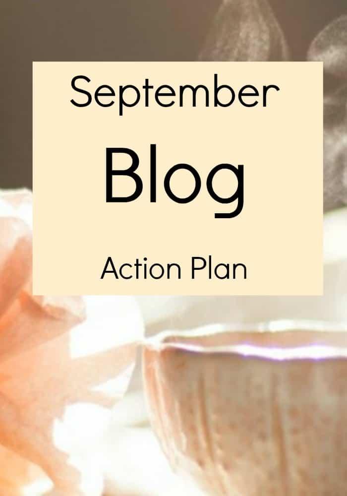 September blog action plan