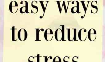 3 quick and easy ways to reduce stress