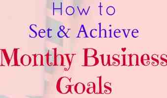 How to set monthly business goals and achieve them