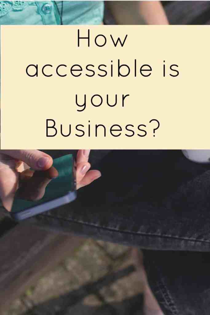 Acquiring Your Customer's Accessibility