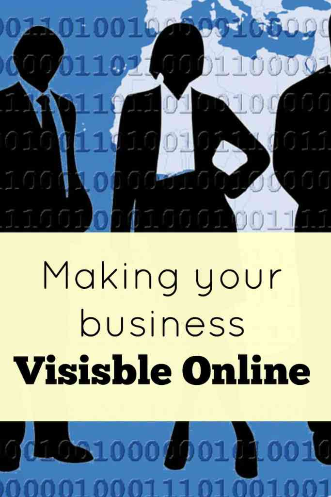 Making your business visible online.