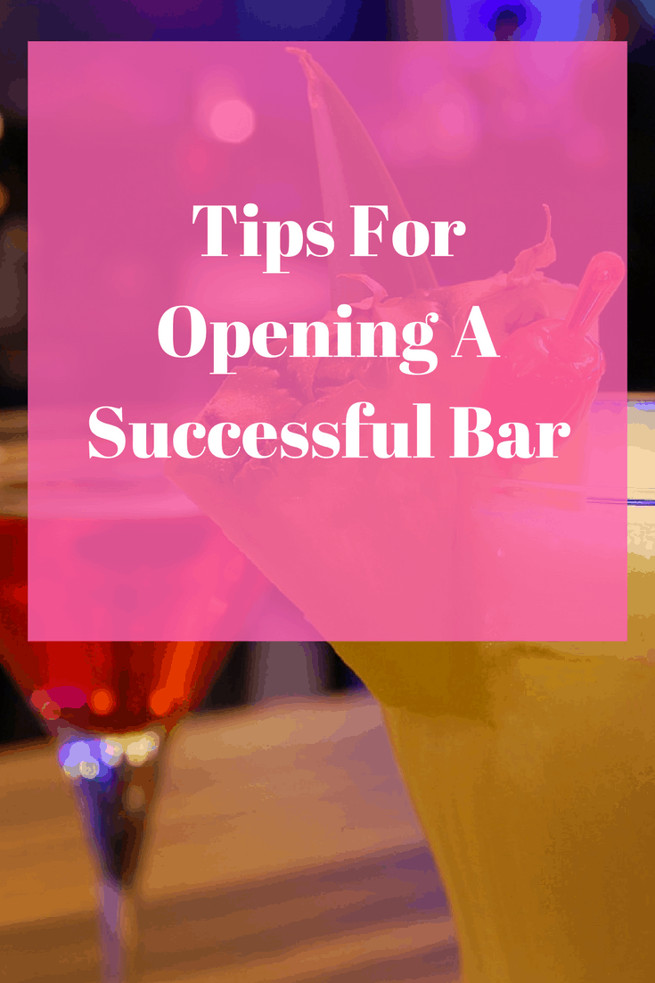 If the idea of opening your own bar appeals to you, check out these tips for opening a successful bar.