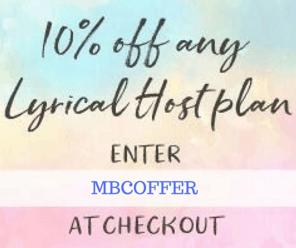 Lyrical Host 10% offer