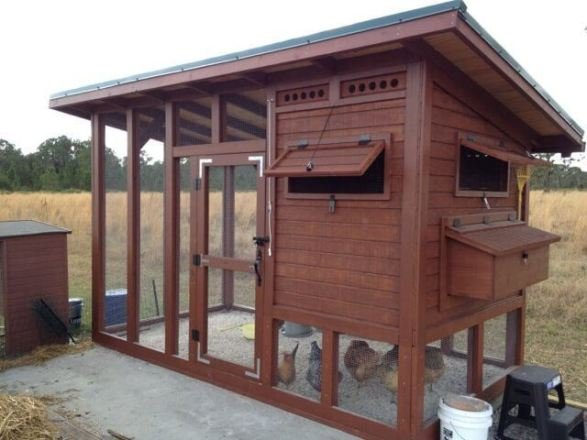 61 diy chicken coop plans that are easy to build 100 free for Large chicken house