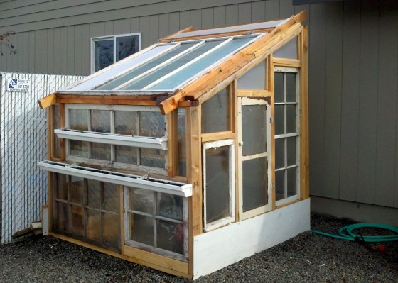 Perfect This Greenhouse Is Built For Less Than $100.