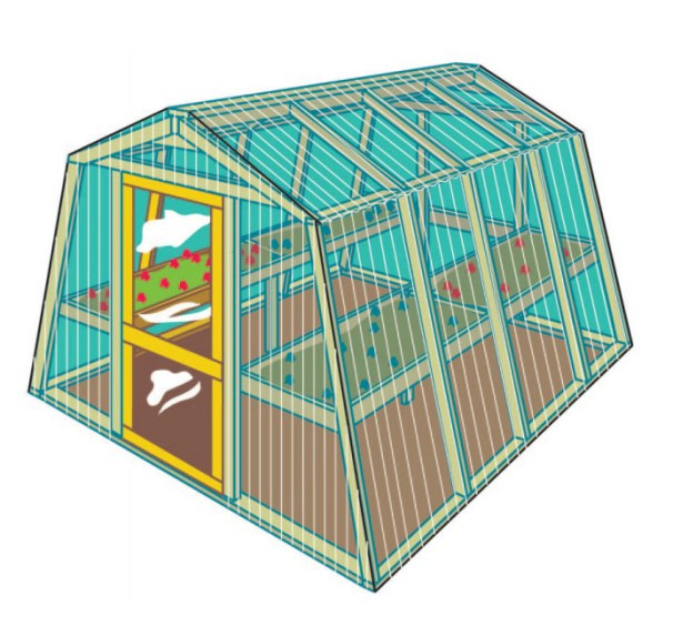 84 diy greenhouse plans you can build this weekend free they obviously recommend using their pressure treated pine to build this greenhouse solutioingenieria Gallery