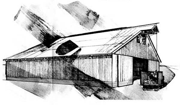 153 pole barn plans and designs that you can actually build for Hay shed plans
