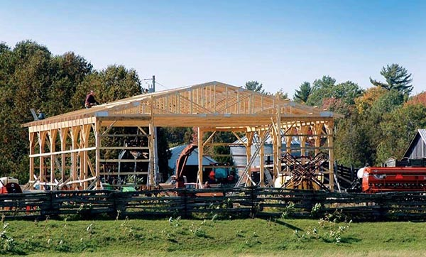 I Love This Article About How To Build A Pole Barn It Covers Everything You Need Know And Points Out All Of The Economical Benefits Type Shelter