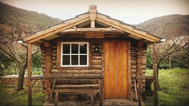 30 diy cabin log home plans with detailed step by step for Diy tiny cabin plans