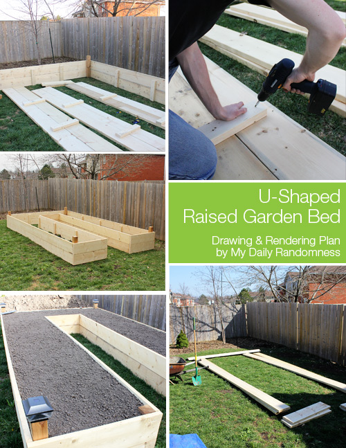 I Like The U Shape Raised Garden Bed. Though It Isnu0027t Elevated, It Still  Makes Caring For Your Plants A Little Easier.