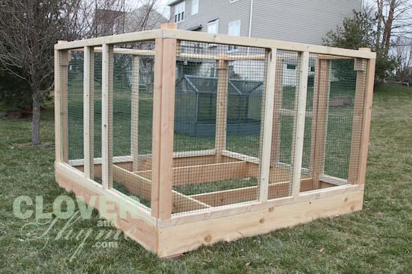 DIY Garden Enclosure. Gb7