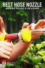 5 Best Hose Nozzles and Sprayers for Your Garden Plants (and Cars)