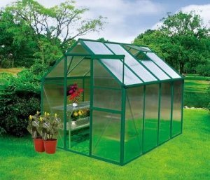 earthcare basic backyard greenhouse kit