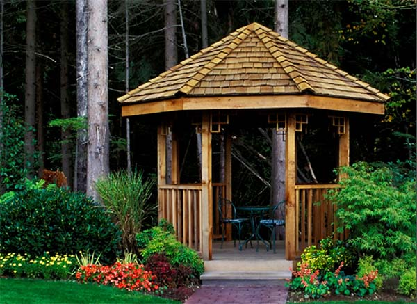 22 Free DIY Gazebo Plans & Ideas to Build with Step by