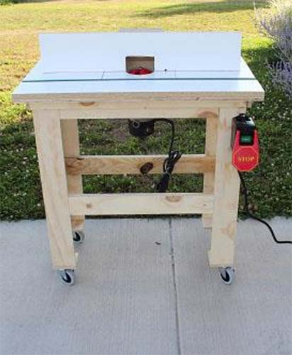 39 free diy router table plans ideas that you can easily build simple router table plans greentooth Image collections