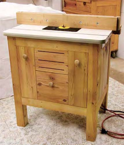 The Country Classic Router Table