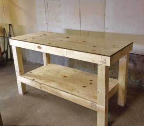 the garage workshop workbench - Workbench Design Ideas