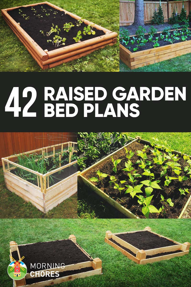 42 DIY Raised Garden Bed Plans & Ideas that You Can Build ... on Backyard Raised Garden Bed Ideas id=37306