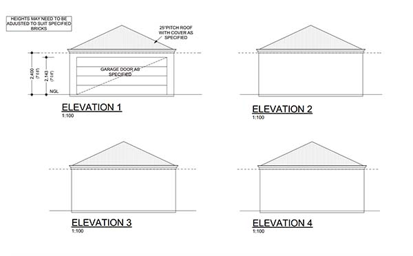 18 free diy garage plans with detailed drawings and for 28x30 garage plans