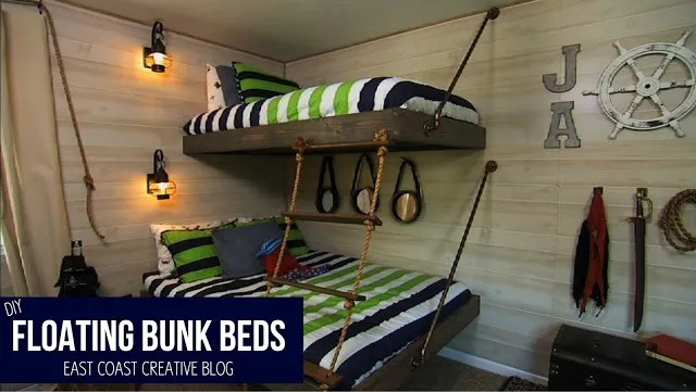 Floating Bunk Beds. bb6