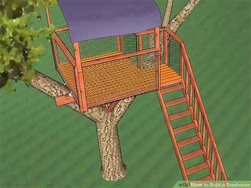 Ehow Treehouse Plans
