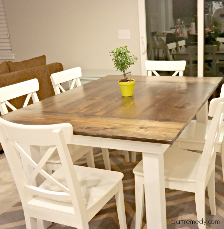 The Simple White Farmhouse Table