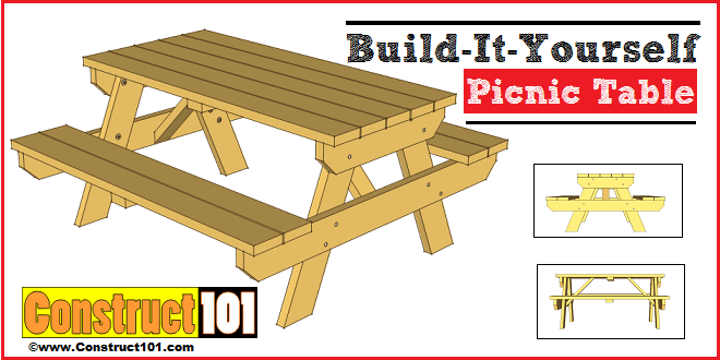 The DIY Picnic Table. Pt34