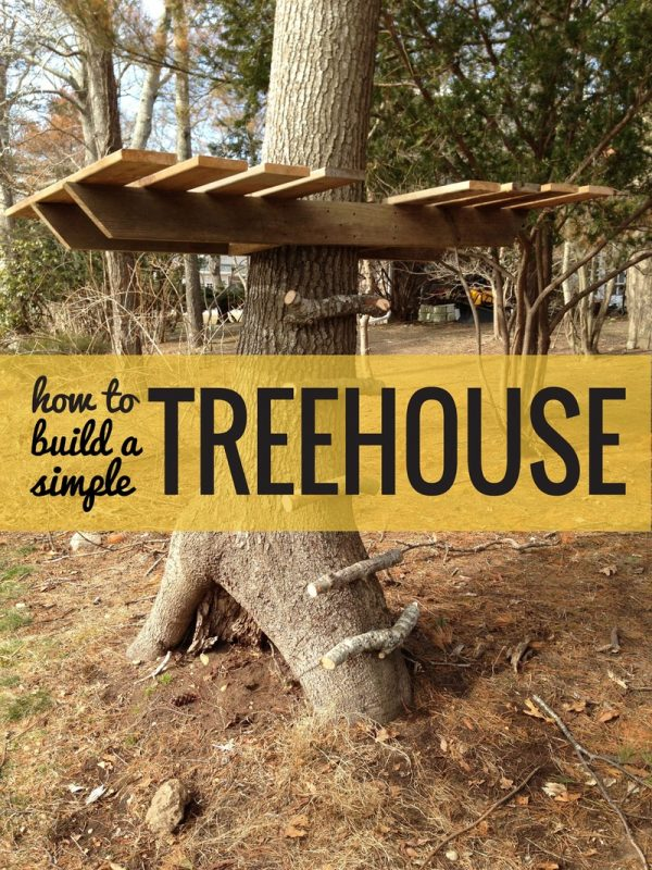 Simple Tree Houses 30 diy tree house plans & design ideas for adult and kids (100% free)