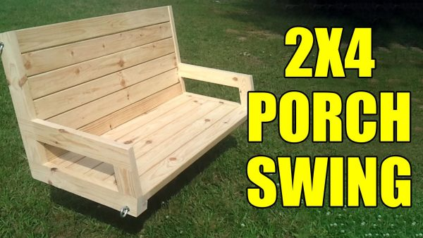 2x4 Porch Swing