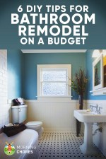 Tips for DIY Bathroom Remodel on a Budget (and 6 Décor Ideas)