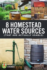 Off-Grid Water Systems: 8 Viable Solutions to Bring Water to Your Homestead