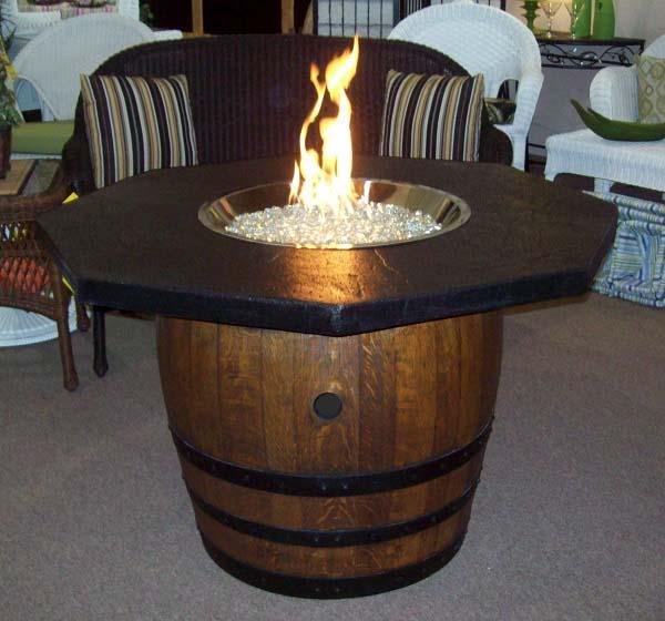 Barrel Fire Pit Idea