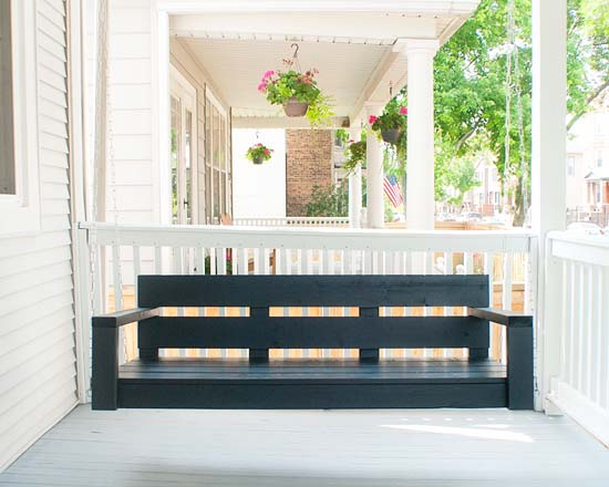porch daybed plans 23 free diy porch swing plans ideas to chill in your front porch