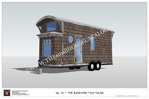 These Plans Are Great For People That Donu0027t Want To Be Tied Down To One  Piece Of Land. This House Is Great Because It Is Obviously On A Trailer So  It Can ...