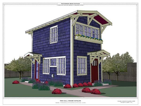 Tiny house plan design