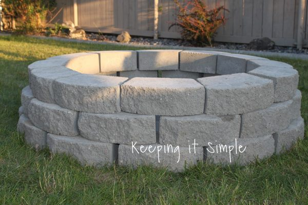This Fire Pit Is Totally Simple. She Gives You A Great Materials List And  The Price She Paid For Each Item On The List. This Is A Great Thing To Have  ...