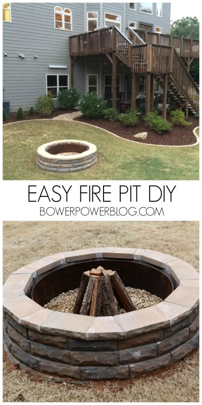 57 inspiring diy outdoor fire pit ideas to make smores with your youll understand why i named this one the pit if you read the post hint she used a fabulous play on words to introduce you to her diy fire pit solutioingenieria Gallery
