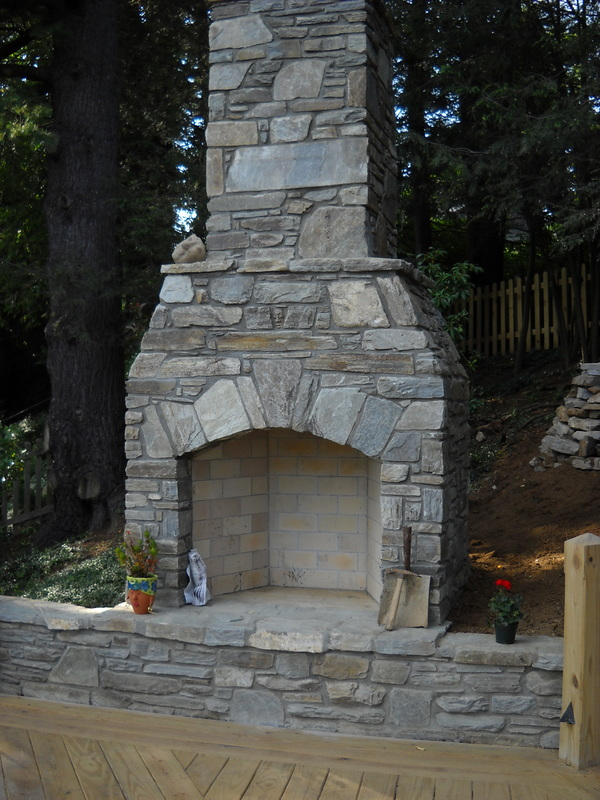 The Masonry Outdoor Fireplace. Fp28
