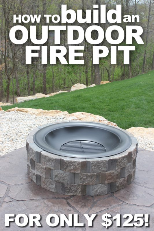 This Fire Pit Looks Really Good. It Is Circular And Made From Stone As  Others Weu0027ve Mentioned.