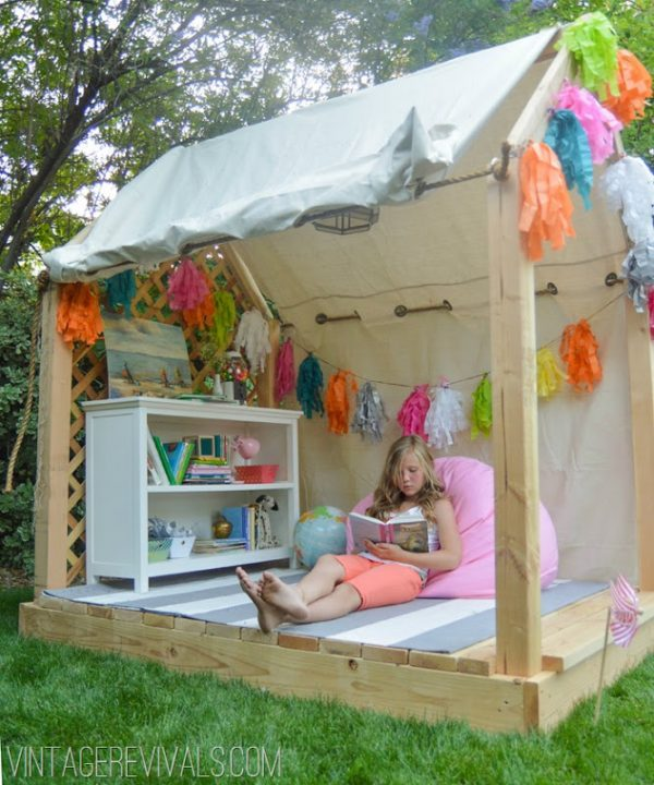 Well, Then Reward That Awesome Behavior By Giving Them An Outdoor Reading  Nook.