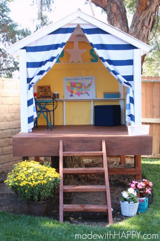 31 free diy playhouse plans to build for your kids 39 secret hideaway