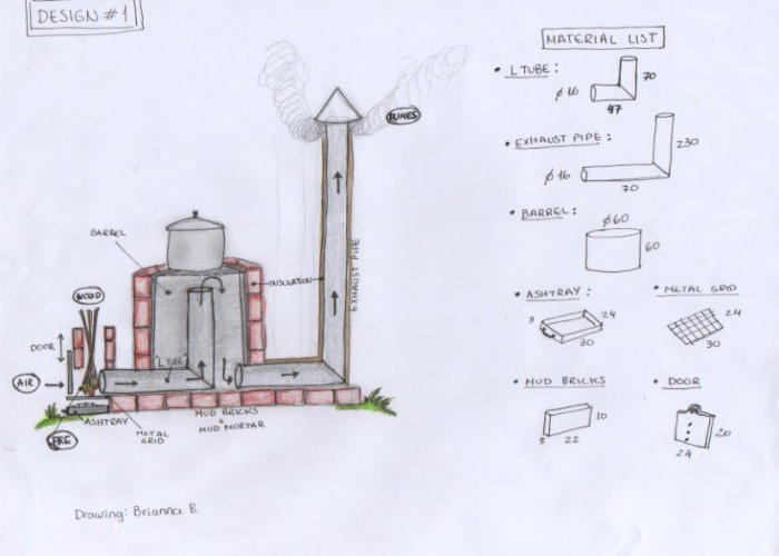 21 free diy rocket stove plans for cooking efficiently for Rocket wood stove design