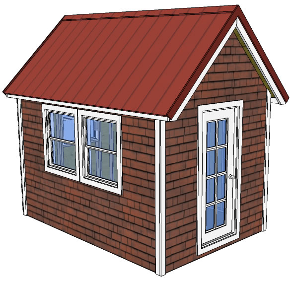This tiny house is a tad smaller than the one mentioned above  However it looks very simple to build as design pretty basic 20 Free DIY Tiny House Plans Help You Live Small Happy Life