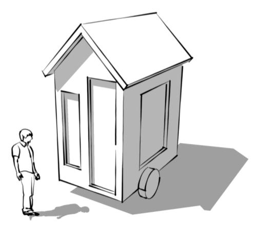 Tiny Market House. Th3