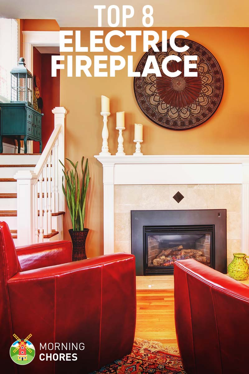 8 Best Electric Fireplace Heater & Stove: 2017 Reviews & Comparison