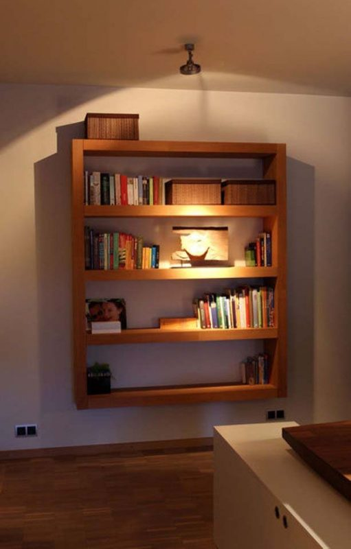 51 diy bookshelf plans ideas to organize your precious books for Large bookcase plans