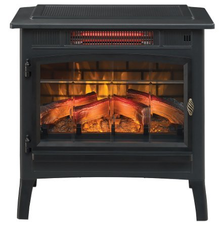 8 best electric fireplace heater stove reviews comparison. Black Bedroom Furniture Sets. Home Design Ideas