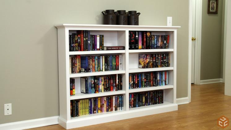 DIY Bookshelf Plans Ideas To Organize Your Precious Books - Homemade bookshelves